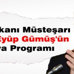 Sağlık Bakanı Müsteşarı Prof.Dr. Eyüp Gümüş'ün Malatya Programı