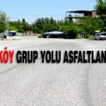 Şahnahan Suluköy Grup Yolu Asfaltlandı