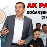 Ak Parti'den, Doğanşehir ve Akçadağ Çıkarması