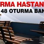Malatya Araştırma Hastanesi'ne 148 Oturma Bankı
