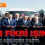 Bakan Fikri Işık Trambüsün Açılışını Yaptı