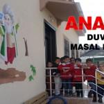 Kaynarca Anaokulunun Duvarlarında Masal Kahramanları