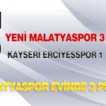 Yeni Malatyaspor Evinde 3 Puan Aldı