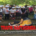 112 Ekipleri Trafik Haftasında Etkinlik Gerçekleştirdi