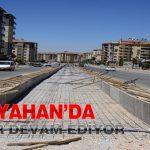 Fahri Kayahan'da Çalışmalar Devam Ediyor