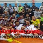 Görme Engelliler Futsal Takımı B2 ve B3 Takımı, 1.Lige Yükseldi
