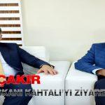 Başkan Çakır Ak Parti İl Başkanı Kahtalı'yı Ziyaret Etti