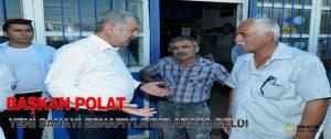 Başkan Polat Yeni Sanayi Esnafıyla Bir Araya Geldi
