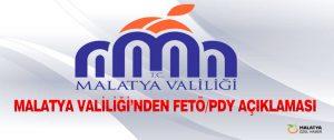 Malatya Valiliği'nde FETÖ Operasyonlarına Devam