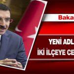 Bakan Tüfenkci Yeni Adliye Binası ve İki İlçeye Cezaevi Yapılacak