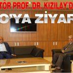 Rektör Prof. Dr. Kızılay'dan MTSO'ya Ziyaret