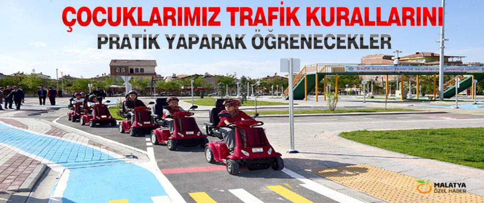 Çocuklarimiz Trafik Kurallarını Pratik Yaparak Öğrenecekler
