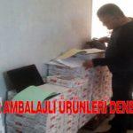 Malatya'da Hazır Ambalajlı Ürünleri Denetlendi