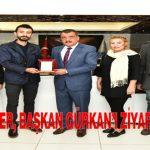 Ak Partili Gençler, Başkan Gürkan'ı Ziyaret Etti
