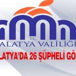FETÖ / PDY Malatya'da 26 Şüpheli Gözaltına Alındı
