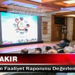 Başkan Çakır Belediyenin Faaliyet Raporunu Değerlendirdi