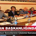 Vali Kaban Başkanlığında Yeni Stadyumun Sorunlarının Çözümü Konusunda Toplantı Yapıldı