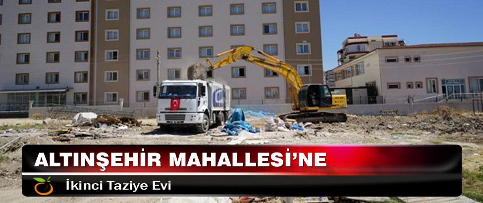 Altınşehir Mahallesi'ne İkinci Taziye Evi