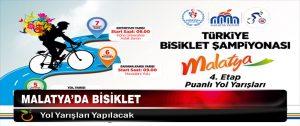 Malatya'da Bisiklet Yol Yarışları Yapılacak