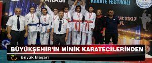Büyükşehir'in Minik Karatecilerinden Büyük Başarı