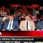 Malatyalılar 15 Temmuz Millet Meydanındaydı