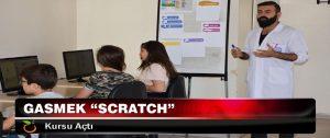 "Gasmek ""Scratch"" Kursu Açtı"