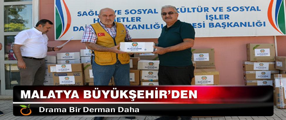 Malatya Büyükşehir'den Drama Bir Derman Daha