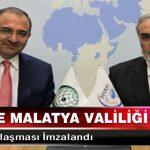 Sesrıc İle Malatya Valiliği Arasında İşbirliği Anlaşması İmzalandı