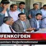 Bakan Tüfenkci'den İşsizlik Rakamları Değerlendirmesi