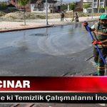 Başkan Çınar, Yeşiltepe'de ki Temizlik Çalışmalarını İnceledi