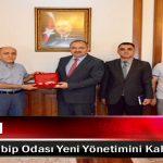 Vali Kaban, Malatya Tabip Odası Yeni Yönetimini Kabul Etti