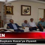 Keskin'den AK Parti İl Başkanı Koca'ya Ziyaret