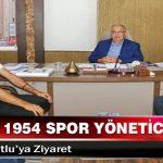 Adıyaman 1954 Spor Yöneticilerinden, Başkan Kutlu'ya Ziyaret