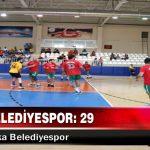 Adıyaman Belediyespor: 29-29 :Karşıyaka Belediyespor