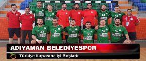 Adıyaman Belediyespor Türkiye Kupasına İyi Başladı