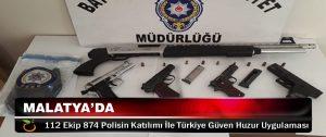 Malatya ve Türkiyede Güven Huzur Uygulaması