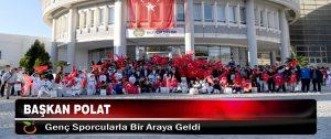 Başkan Polat Genç Sporcularla Bir Araya Geldi