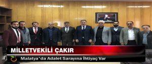 Malatya'da Adalet Sarayına İhtiyaç Var