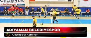 Adıyaman Belediyespor, Göztepe'yi Ağırlıyor