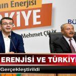 Dünyanın Erenjisi ve Türkiye Konulu Konferans Gerçekleştirildi