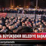 Büyükşehir Belediye Başkan Adayı Gürkan, Coşku İle Karşılandı
