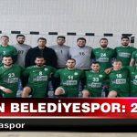 Adıyaman Belediyespor: 25-22 :Antalyaspor