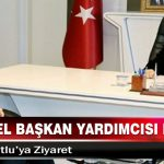 TÜGVA Genel Başkan Yardımcısı Durmuş'tan, Başkan Kutlu'ya Ziyaret
