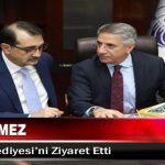 Bakan Dönmez, Elazığ Belediyesi'ni Ziyaret Etti