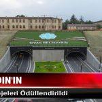Başkan Aydın'ın Ulaşım Projeleri Ödüllendirildi