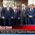 Hisarcıklıoğlu'dan Malatya'ya Yeni Bir Okul Yapılma Müjdesi