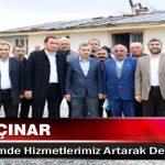 Mehmet Çınar Yeni Dönemde Hizmetlerimiz Artarak Devam Edecek