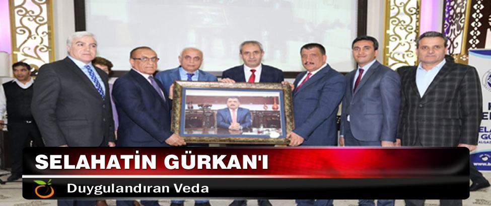 Selahatin Gürkan'ı Duygulandıran Veda