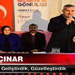 Mehmet Çınar Yeşilyurt'u Geliştirdik, Güzelleştirdik