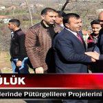 Mikail Sülük, Seçim Gezilerinde Pütürgelilere Projelerini Anlattı